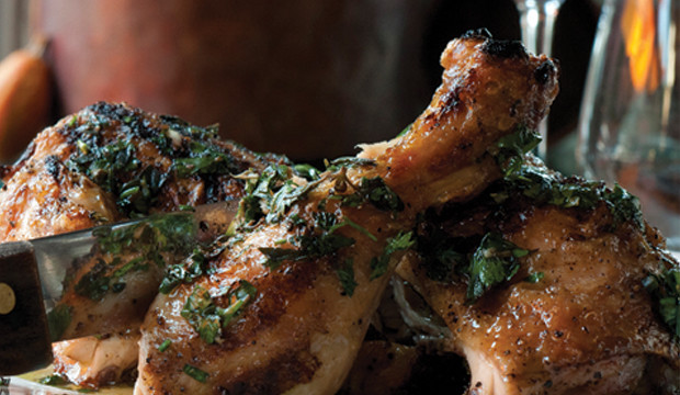 roasted chicken with salsa verde
