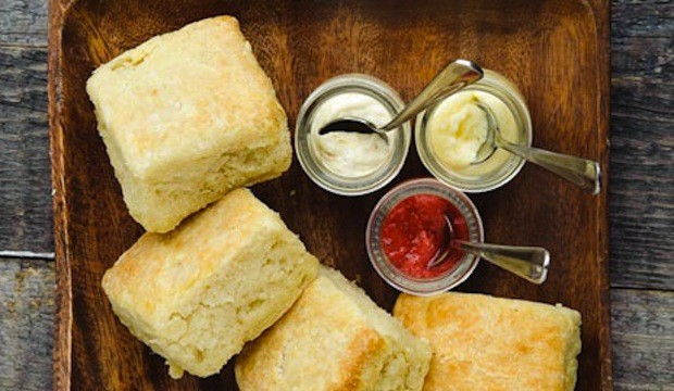 homemade butter with molasses