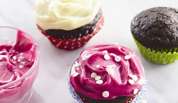 velvet cupcakes with cream cheese frosting