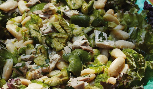 White Bean Salad with Preserved Tuna and Parsley ...