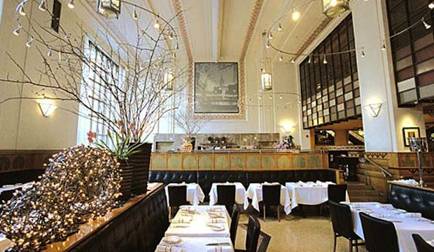 Eleven Madison Park: Recommended by: Scott Conant (Judge, Chopped), George Mendes (Chef/Owner, Aldea), James Oseland (Editor-in-Chief, Saveur), Ray Isle (Executive Wine Editor, Food & Wine), Ted Allen (Host, Chopped)
