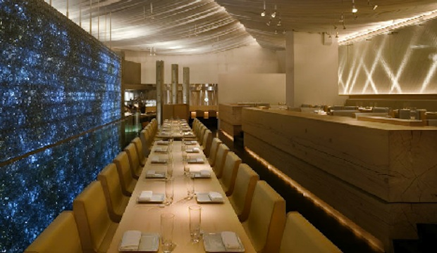 Morimoto: Recommended by: Sarabeth Levine (Chef/Owner, Sarabeth's), Alfred Portale (Chef/Co-Owner, Gotham Bar & Grill), Ted Allen (Host, Chopped), Jay Sean (Musician)