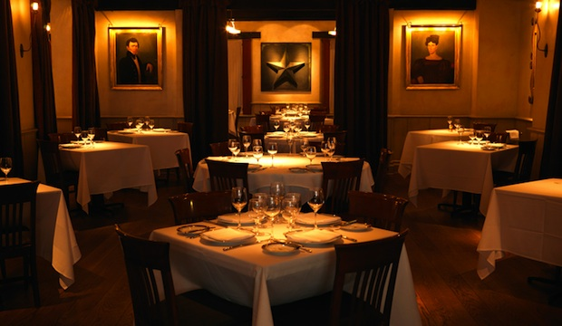 Gramercy Tavern: Recommended by: Denise Porcaro (Owner, Flower Girl), Ted Allen (Host, Chopped), Salvatore Tafuri (Mixologist), Joe Campanale (Epicurean Management), Jim Nelson (Editor-in-Chief, GQ), Branden McRill (Co-Owner/General Manager, Pearl & Ash), Teague Moriarty (Chef/Co-Owner, Sons & Daughters), Jennifer Morrison (Actress), Becca Parrish (Founder, BeccaPR), Norbert Leo Butz (Actor)