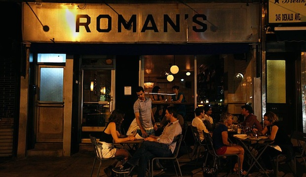 Roman's: Recommended by: Ted Allen (Host, Chopped), Jill Herzig (Editor-in-Chief, Redbook), Jud Mongell (Five Leaves)
