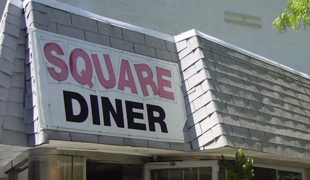 Square Diner: Recommended by: Peter Tunney (Artist, Peter Tunney Art)
