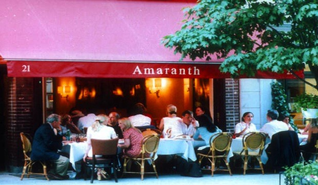 Amaranth, 21 E 62nd St., Recommended by Kelly Rutherford