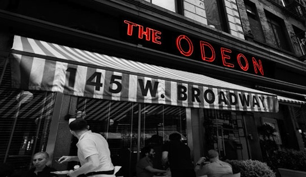 The Odeon: Recommended by: John Bartlett (Fashion Designer), Peter Tunney (Artist, Peter Tunney Art), David Rabin (Co-Owner, The Lamb's Club), Adam Glassman (Creative Director, O Magazine), Anne Fulenwider (Editor-in-Chief, Marie Claire), Chris Benz (Fashion Designer), Omar Hernandez (Restaurateur, Omar's), Robert Lee Morris (Jewelry Designer), Olivia Kim (Director of Creative Projects, Nordstrom), Stephanie March (Actress), Becca Parrish (Founder, BeccaPR),  Robbie Myers (Editor-in-Chief, ELLE), Julia Stiles (Actress)