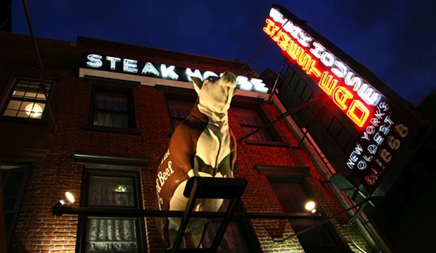 Old Homestead Steakhouse: Recommended by: Adam Glassman (Creative Director, O Magazine)