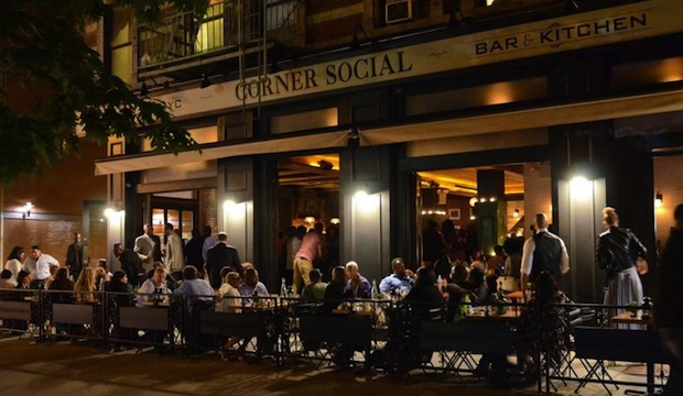 Corner Social: Recommended by: Dennis Cornick (Maitre d', Miss Lily's)