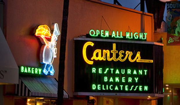 Canter's: Recommended by: Dita Von Teese (Burlesque Performer)