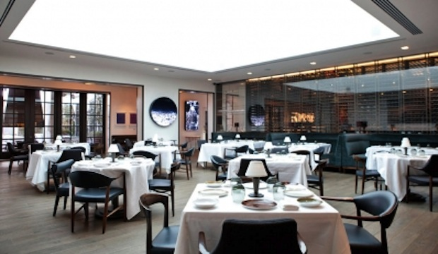 Spago: Recommended by: Jonathan Waxman (Chef/Owner, Barbuto), Jessica Alba (Actress), Chris Jaeckle (Chef, All'onda), Molly Sims (Model), Beau Dunn (Artist), Yousef Ghalaini (Chef, FIG)