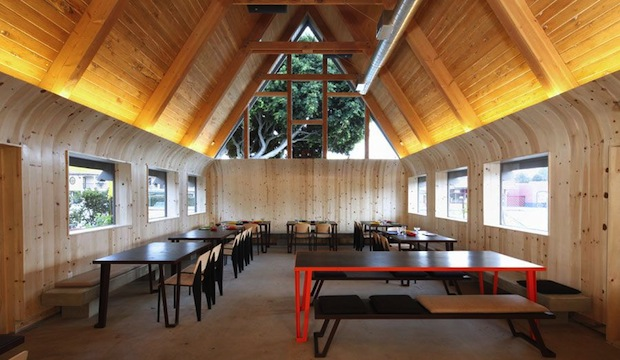 A-Frame: Recommended by: Susan Feniger (Contestant, Top Chef Masters), David X Prutting (BFA)