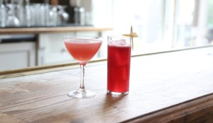 indigo-cocktail-with-currant-lemon-juice-ginger-syrup-and-tequila