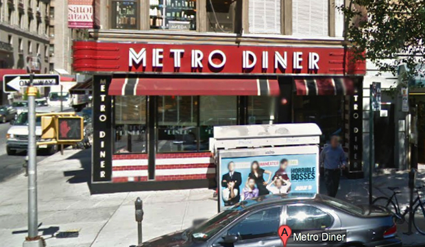 Metro Diner: Recommended by: Kate Mulgrew (Actress)
