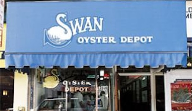 Swan Oyster Depot: Recommended by: Daphne Oz (Host, The Chew), Tamer Hamawi (Restaurateur, Colonie), Nate Appleman (Finalist, The Next Iron Chef)