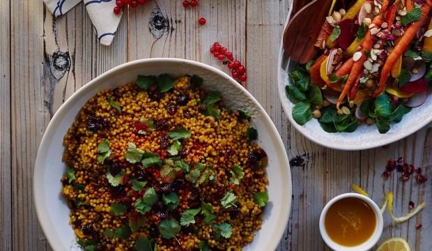 moroccan style spiced couscous
