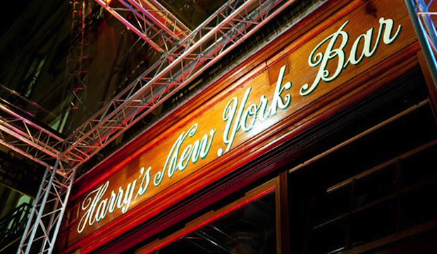Harry's New York Bar: Recommended by: Joshua Boissy (Co-Owner/Director of Operations, Maison Premiere)