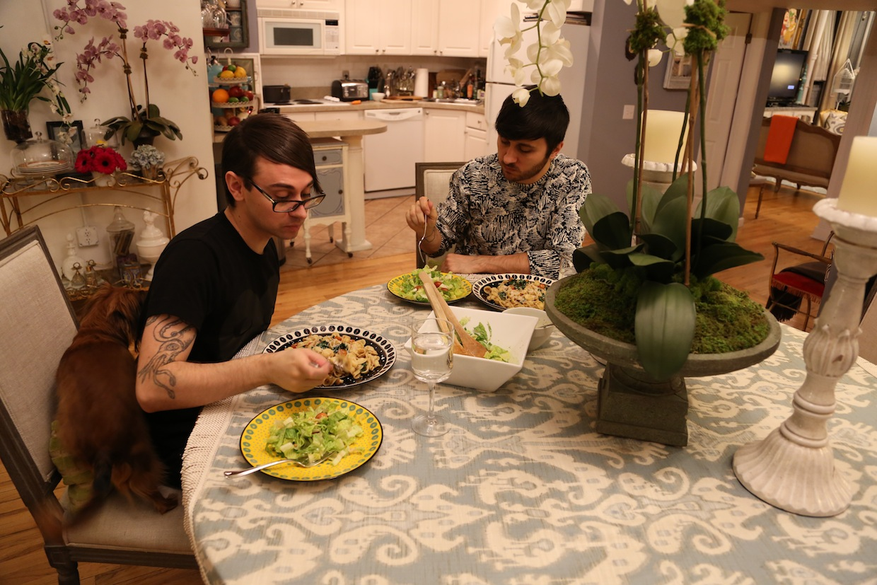 Dinner With Christian Siriano And Brad Walsh The New Potato
