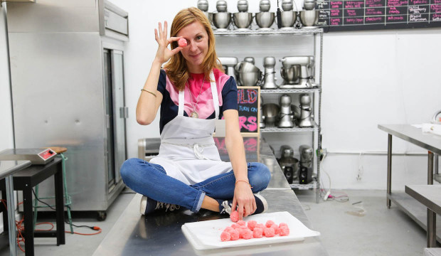 Christina Tosi: On Her Favorite Milk Bar Treat and Bouncing Around With Karlie Kloss