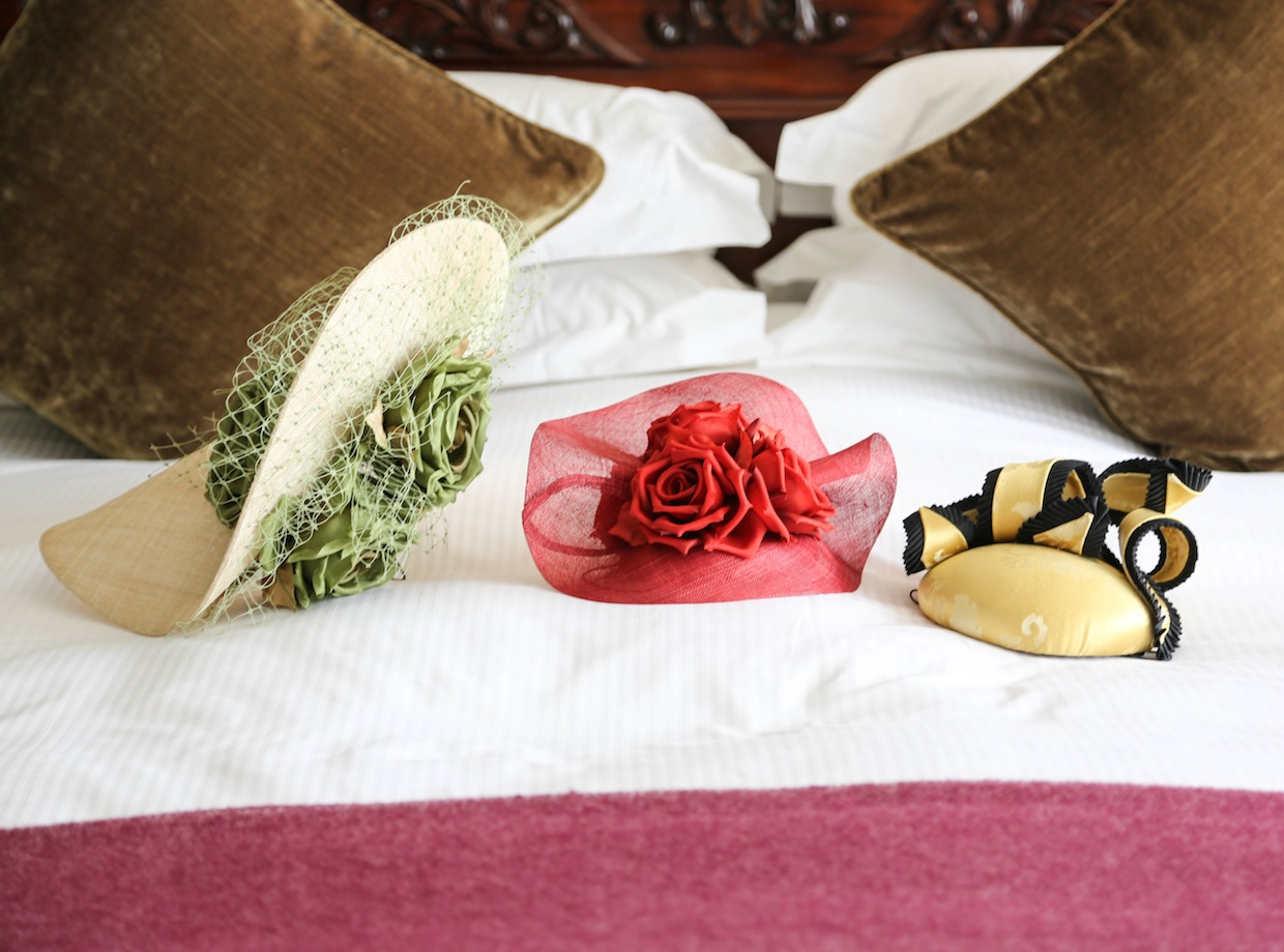 Hats On The Bed: (But It's Kate Middleton's Room, So It's Okay)