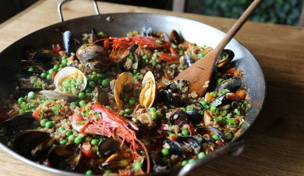 easy to make paella
