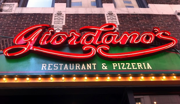 Giordano's South Loop: Recommended by: Tracy Anderson (Tracy Anderson Method), Shanola Hampton (Actress)