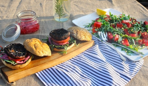 portobello sandwich recipe