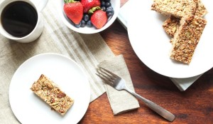 easy granola bar healthy recipe