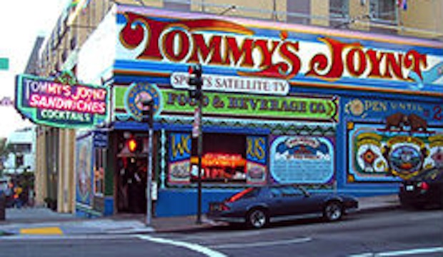 Tommy's Joynt: Recommended by: Daniel Holzman (Co-Owner, The Meatball Shop)