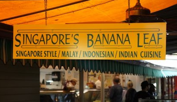 Singapore's Banana Leaf: Recommended by: Rachelle Lefevre (Actress), Zelda Williams (Actress)