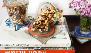 chocolate covered popcorn gift ideas