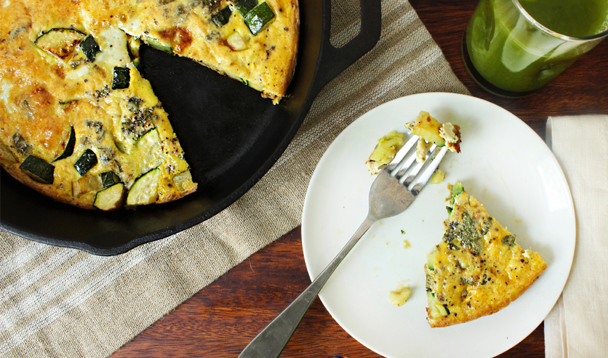 frittata-with-zucchini-sage-and-parmesan