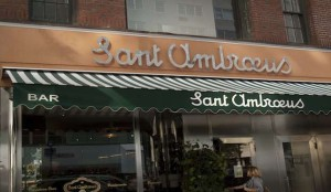 Sant Ambroeus, 265 Lafayette St. Recommended by Kelly Rohrbach