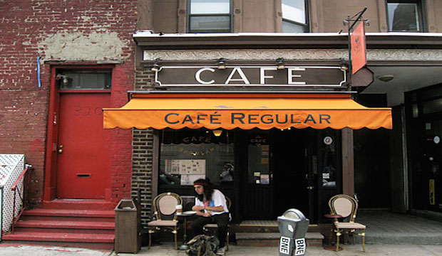 Cafe Regular: Recommended by: Matt Bean (Editor, Entertainment Weekly)