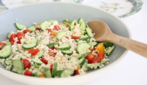 summer salad recipe cous cous