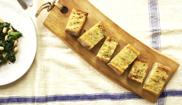 simple garlic bread appetizer