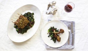 roasted lamb and vegetables dinner recipe