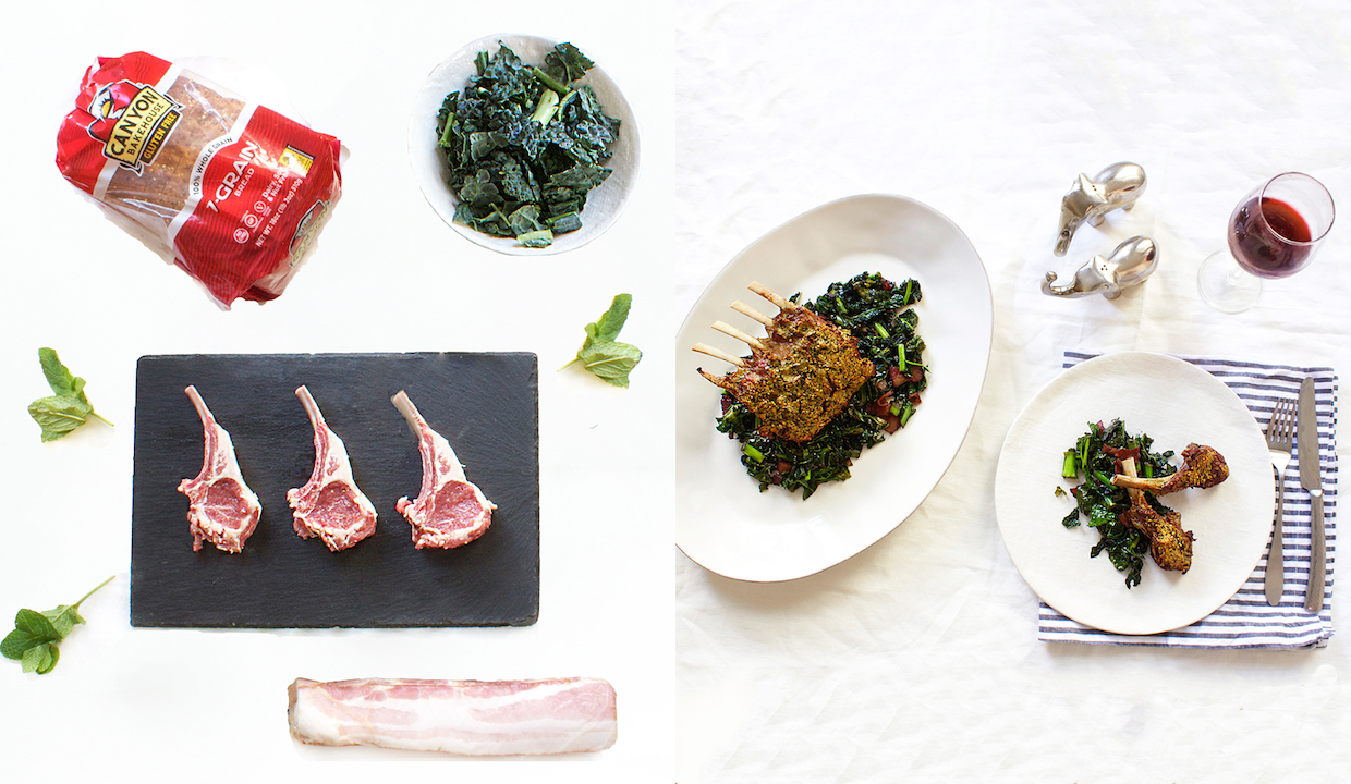 lamb-with-kale-sauteed-in-bacon