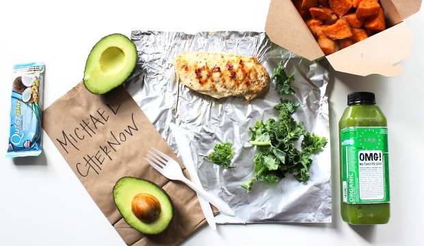 What's In Your Lunchbox?: Michael Chernow Snacks On Sweet Potatoes And Protein Bars