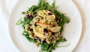 arugula quinoa salad superfood