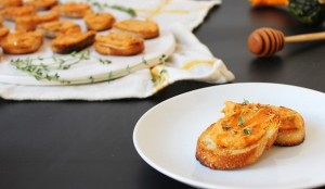 appetizer toast easy to make party
