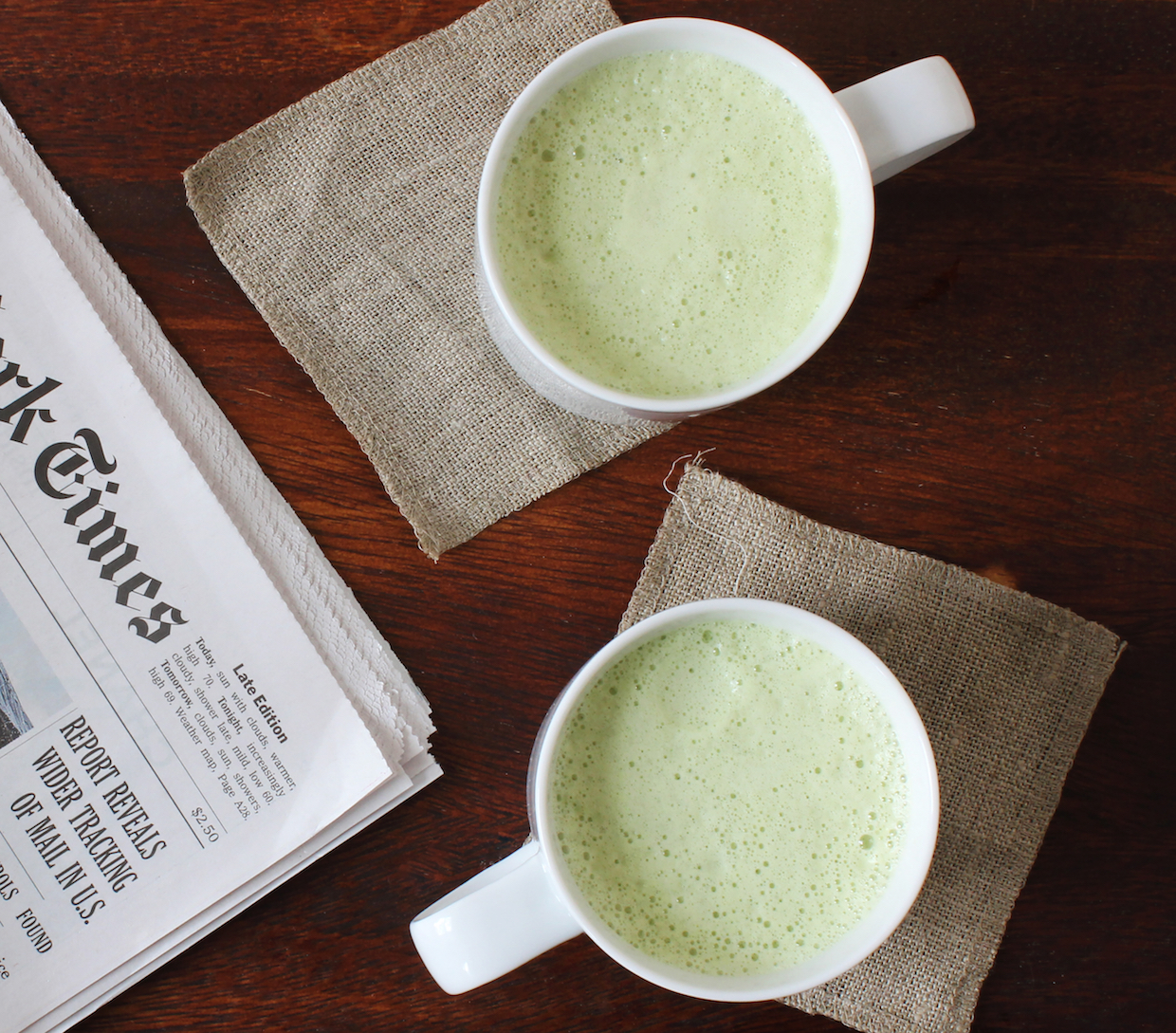 matcha latte easy to make