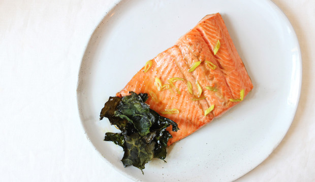 salmon with lemon healthy and easy