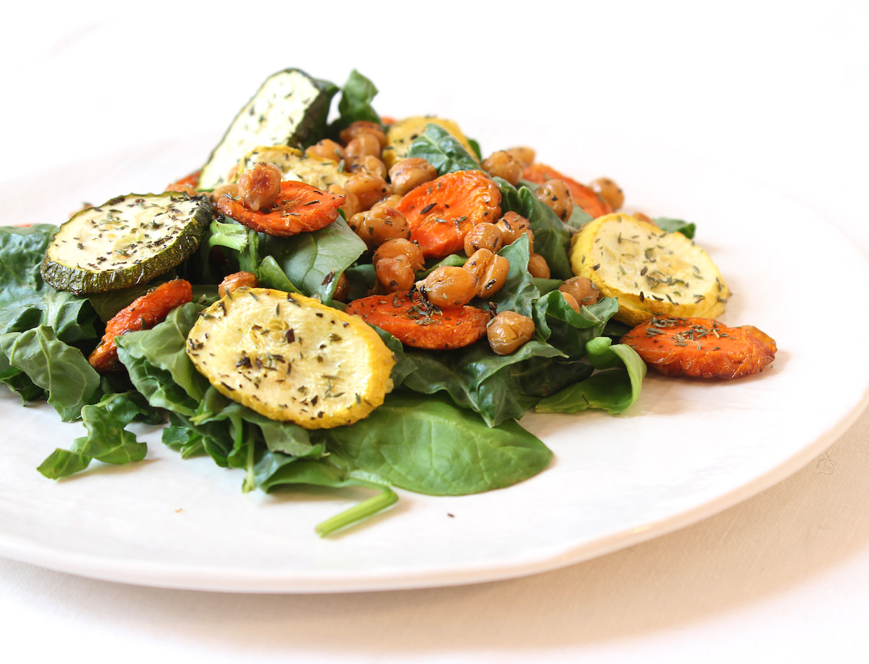 chickpea-salad-with-roasted-vegetables