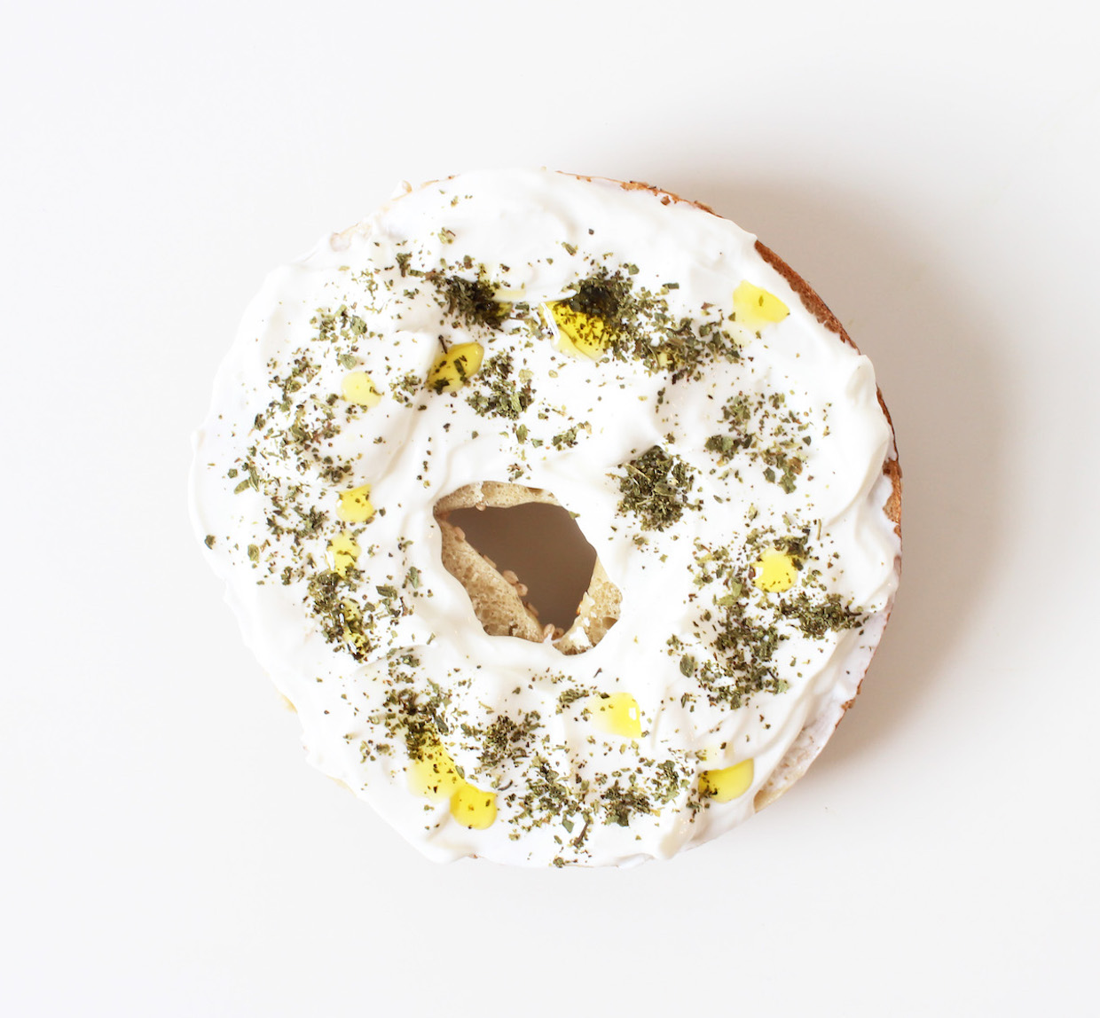 labne-zaatar-and-olive-oil-bagel