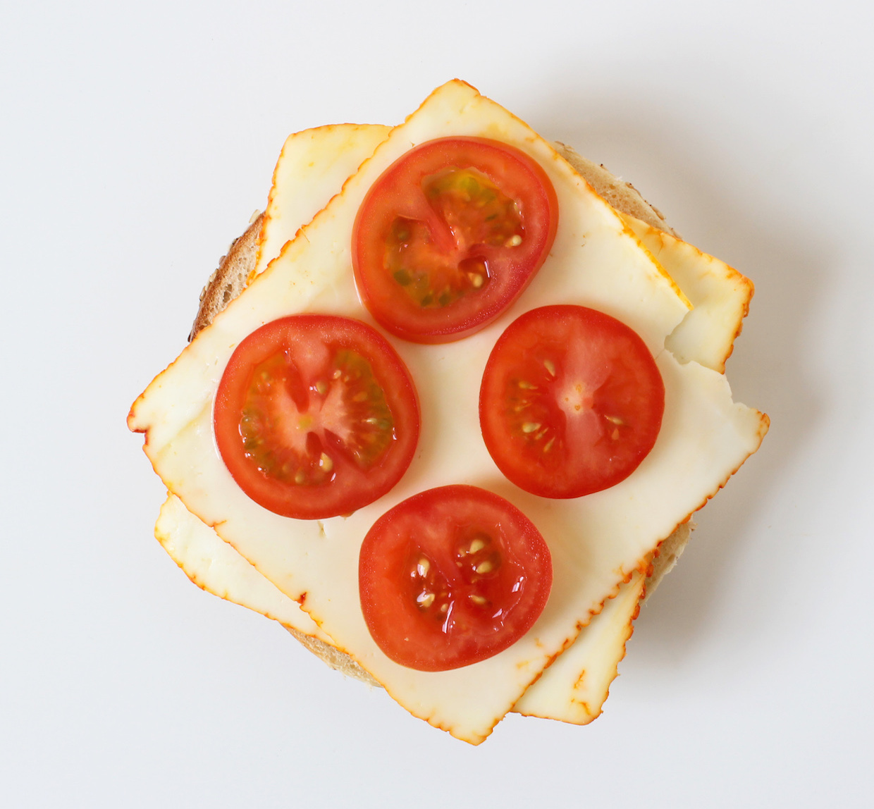 muenster-cheese-and-tomato-bagel