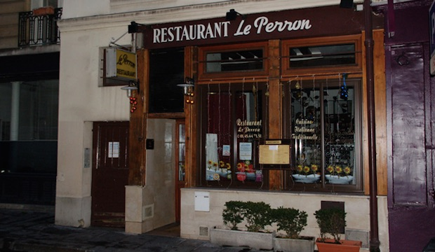 Le Perron: Recommended by: Chloe Perrin (Designer, Perrin Paris)