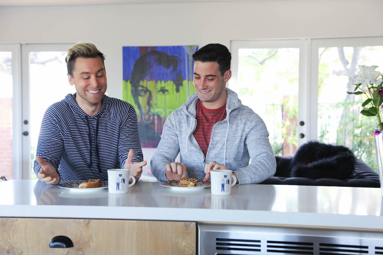 lance bass los angeles home