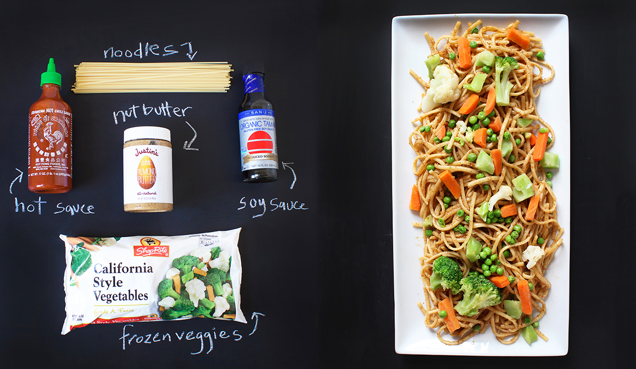 easy to make thai noodles