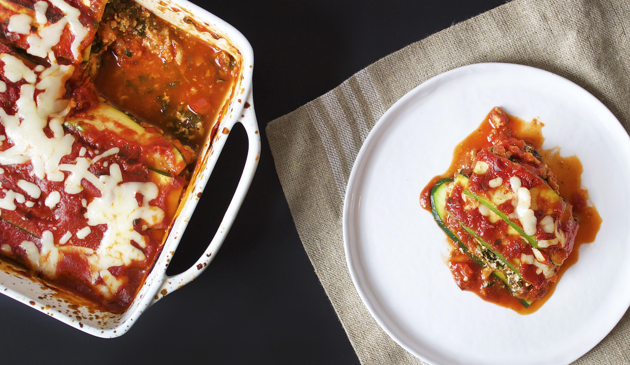 The Ultimate Summer Lasagna: Kathryn Budig Lightens Up This Classic Dish
